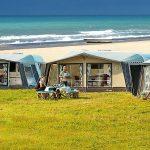 Campeggio in tenda all'insegna del comfort